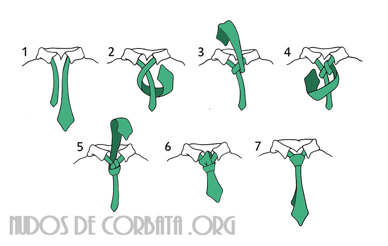 nudo de corbata paso a paso como hacer nudo de corbata On como hacer nudo windsor
